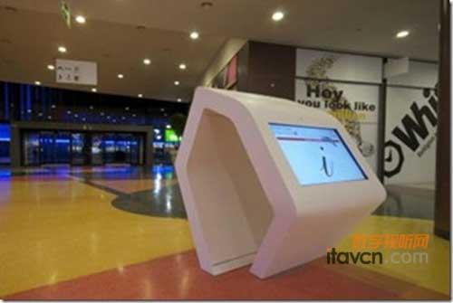 中国安全食品第一网_YDreams电子屏导航桌现身葡萄牙商场_数字告示-中国数字视听网