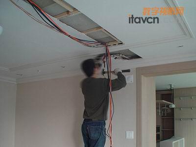 家庭装修时电线布线需到场 教你如何组建高清家庭影院 图
