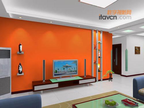 彰显个性 家庭电视背景墙装修总攻略_平板电视-中国