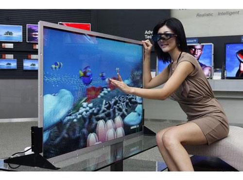 零售商百思买公司的网站上一台三星50英寸的3d等离子电视售价为989.