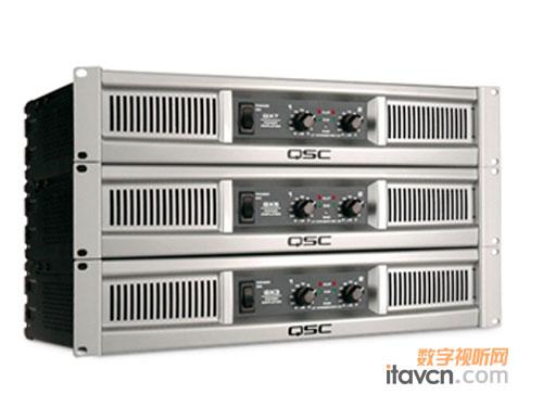 面向专业影音市场 qsc推出新款功放gx7