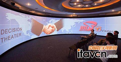 科视投影机剧院型的高级可视化效果
