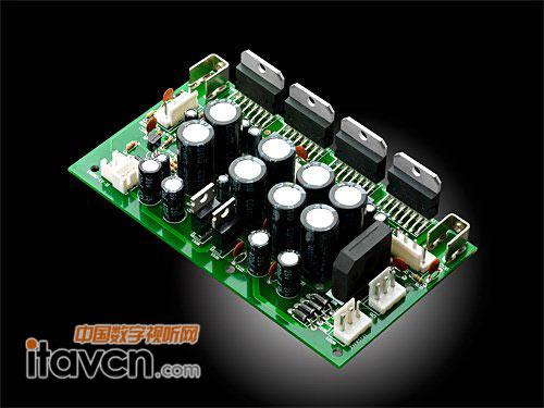 d1080-iv后级电路特写
