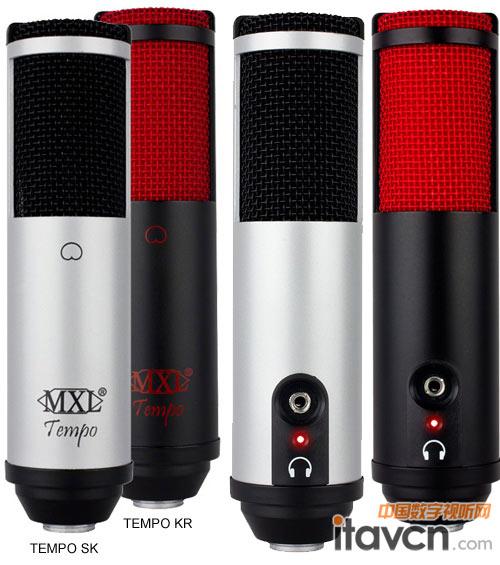 mxl推出新款电容麦克风 可通过usb供电