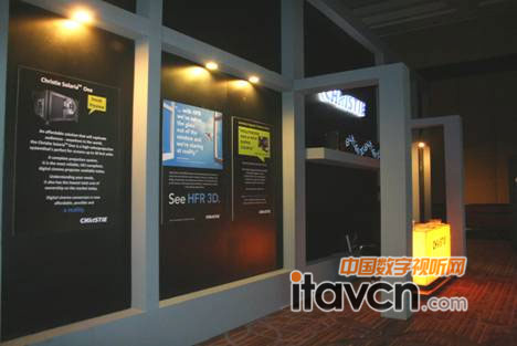 2012印度电影博览会科视展示电影创新技术