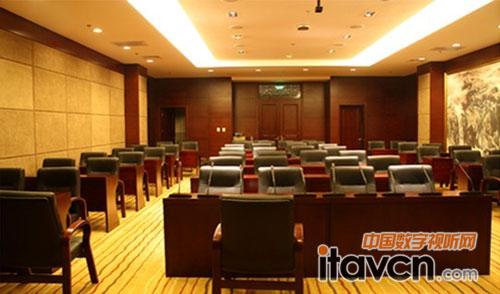 雷蒙无线会议系统用于北京阳光度假村