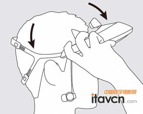 头戴耳机手绘图