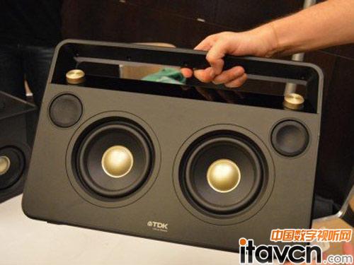 无线立体声音箱boombox