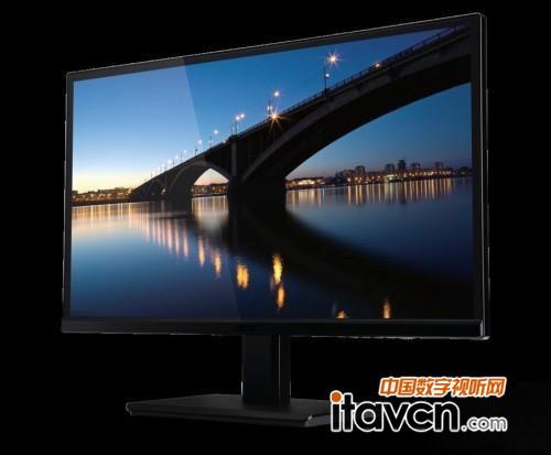 ips面板+1080p acer无边框h236hl显示器