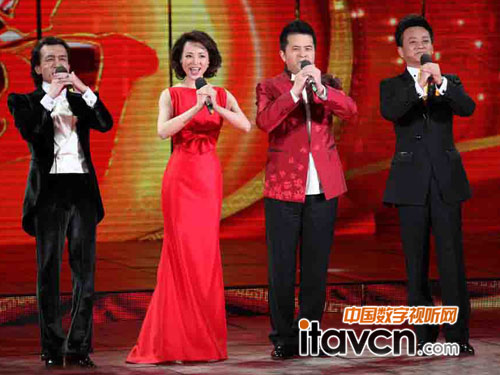 央视将在春节联欢晚会的现场直播中首度