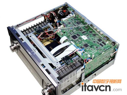 雅马哈AV功放RX-A1010内部构造-雅马哈AVENTAGE系入门新贵功放