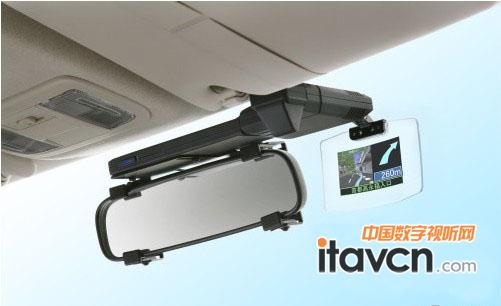 jvc推多功能显示器车载导航微型投影仪