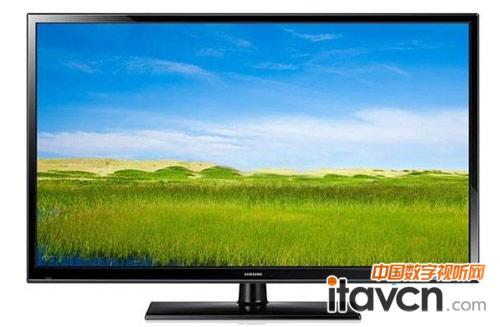 外观方面,三星f4500系列等离子电视以传统黑色为主色调,边框棱角分明