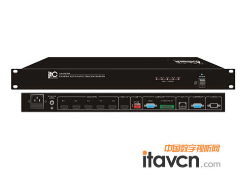 itc广播推出高清摄像跟踪主机ts-0698