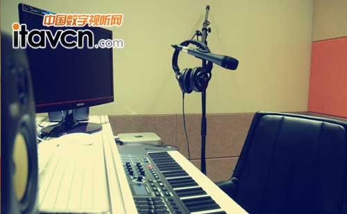 声乐教室个人音乐练习室