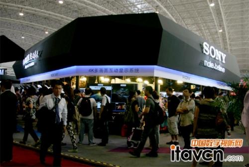 BIRTV2013索尼LCD前期监视器成关注焦点建筑设计高清v前期包括图片