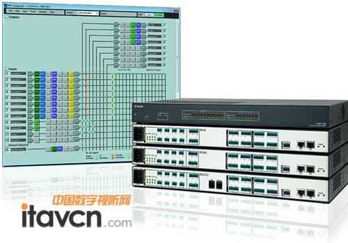 extron音频信号处理器dmp 128系列上市_矩阵切换-中国