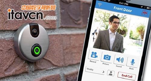 正文  【中国数字视听网讯】idoorcam一个被设计成智能家居部件的门铃