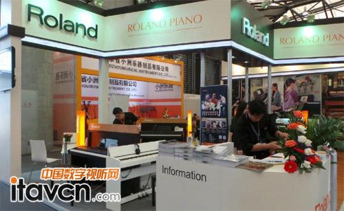 roland数码钢琴 e2f52展台