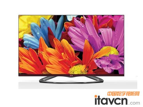 lg 55la6500无边框智能3d电视华丽上市