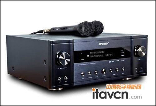 1声道功放采用的是高音和中低音两分频电路