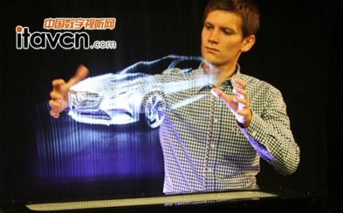 """科技先知:""""透视""""3d全息投影装置"""