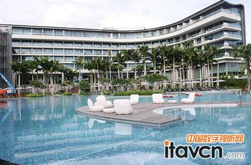 新加坡圣淘沙岛湾w酒店