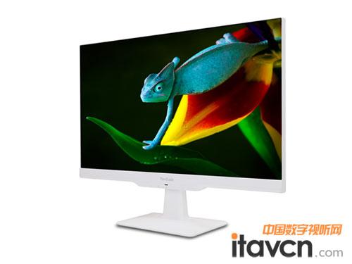 纯白无边框 优派无界63系列显示器上市