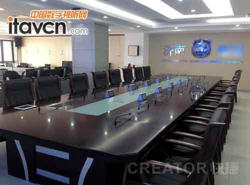 快捷打造济南公安局高端智能会议室图片