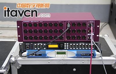 数字调音设备组装与功放接线图