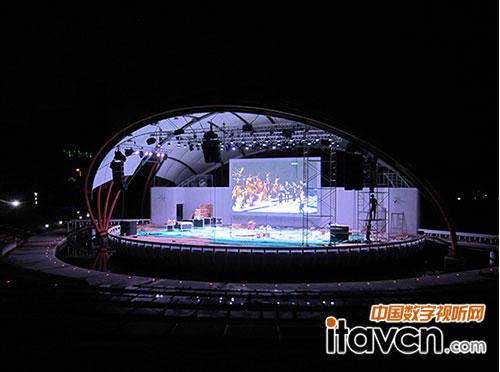 厦门大学音乐舞台图片