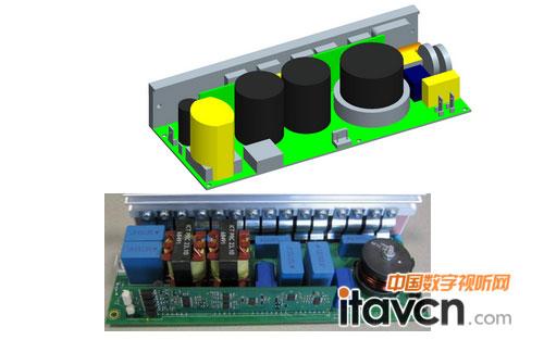 音响电扇灯电路安装图解