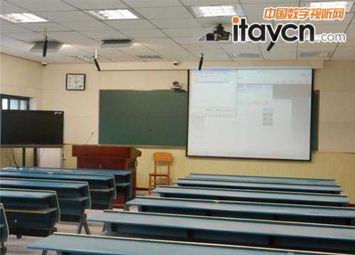 高校多媒体�K�_数字高清多媒体电教室设计图展示