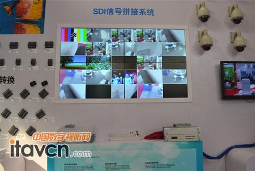 中帝威SDI信号拼接系统