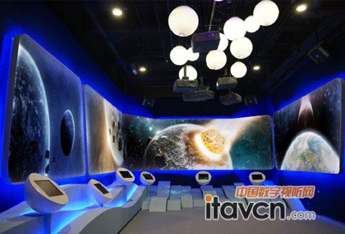 凝聚安徽风采 nec投影技术应用典范_投影机-中国数字