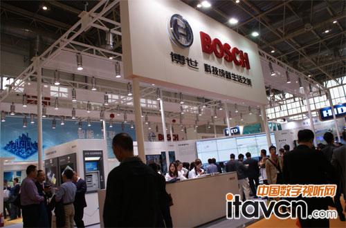 博世安防系统亮相2014中国公共安全博览会