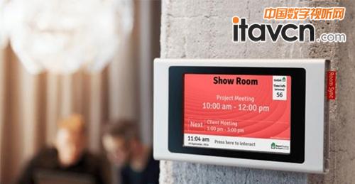 标牌拥有强大的系统功能和丰富的智能互动应用,其智能会议室系统已在图片