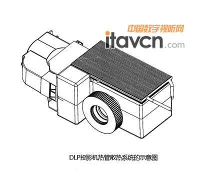 雅图荣获dlp投影机热管散热系统专利020