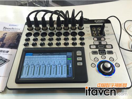 touchmix系列便携式数字调音台