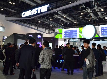 科视HS系列激光荧光体投影机登陆中国