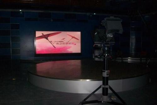 电视台背景墙是电视直播的