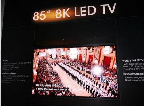 8K分辨率还是以液晶技术为基础