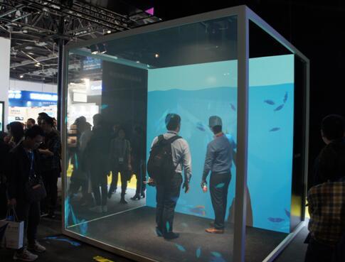 互动投影创意立方体
