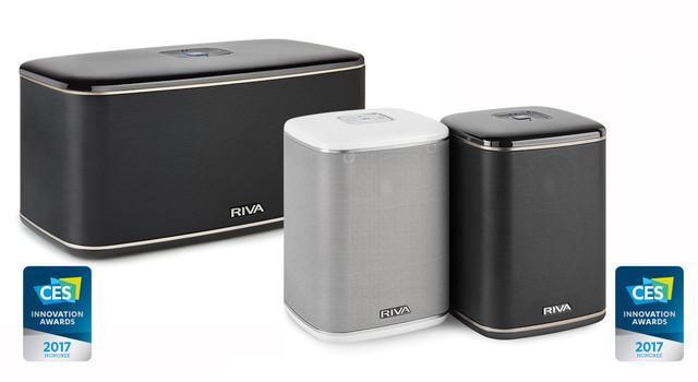 Riva Audio推出两款多功能WiFi音响