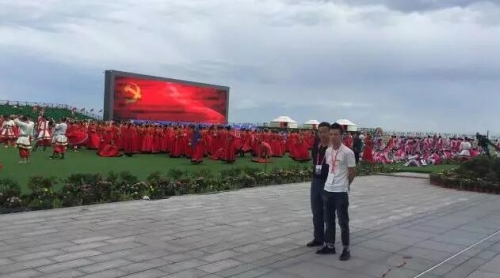 卓邦为内蒙古成立70周年大庆保驾护航