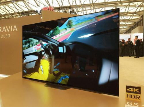 索尼AWE隆重推出OLED电视A8F系列产品