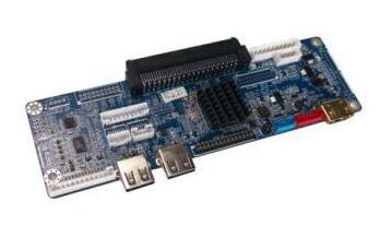 爱鑫微推出带LVDS点屏方案OPS转接小板