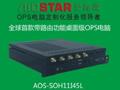 爱鑫微推出首款带路由桌面级OPS电脑