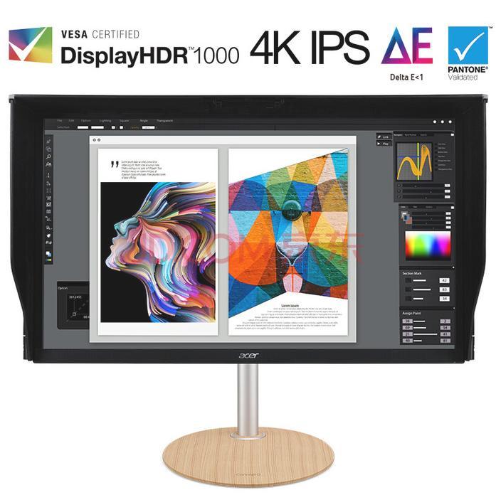宏碁推出2款4K专业级显示器 144Hz刷新