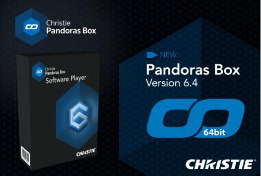 Christie 发布64 位版本潘多拉魔盒系统
